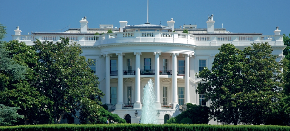 The White House in Washington used to illustrate our A Level Politics Course