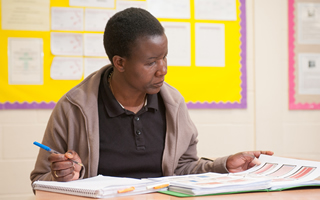 Student studying our Early Childhood and Special Educational Needs Combined Degree