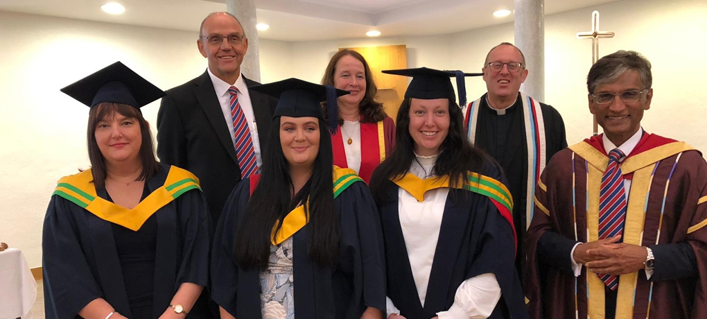 Gradution Day at Holy Cross University Centre